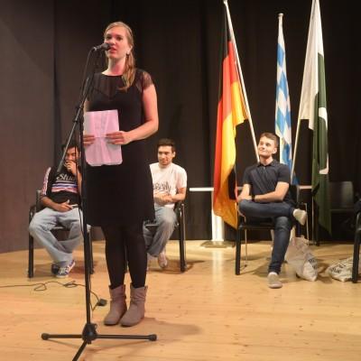 Fee is presenting her poetry – July 2015