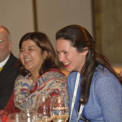 (From left) Frank Schüttig, Business & Diplomacy Magazine, Rukhsana Afzaal, Minister, Embassy of Pakistan and Philomena Poetis, Pakistani Honorary Consulate