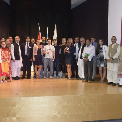 Consul Dr. Poetis with the Pakistani community attending the event – July 2015
