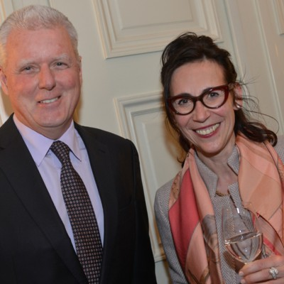 Michael Kamm, CEO Sympatex Holding GmbH and Kathrin Succow, CEO Export Club Bayern