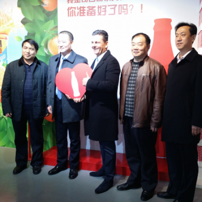 Consul Dr. Poetis visit to Coca Cola in Gaocheng Industry Park