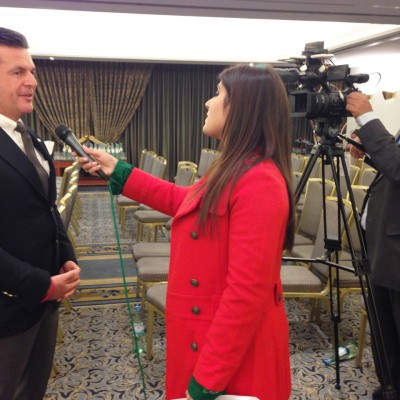 Dr. Poetis in an interview with Pakistan Television News (PTV News), November 10, 2014