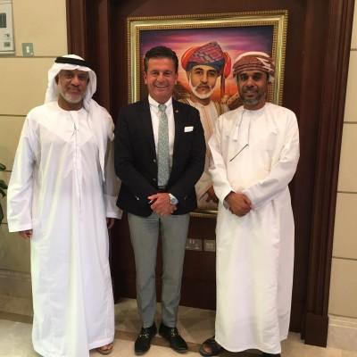 Consul Dr. Poetis with Mr. Said Al Sahib